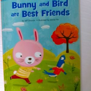 4/10 Bunny and bird are best friends kids book